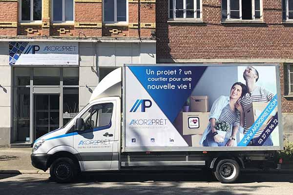 AKOR2PRÊT vous offre son camion !