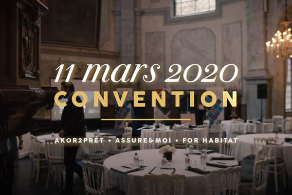 Bienvenue à notre convention !