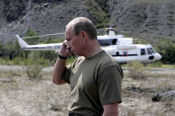 L'année 2015 du sportif Vladimir Poutine