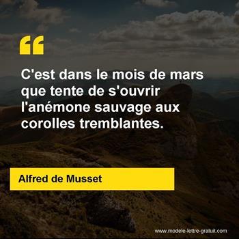 Citations Alfred de Musset