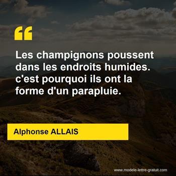 Citations Alphonse ALLAIS