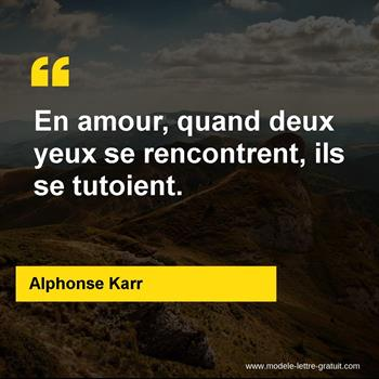 Citations Alphonse Karr