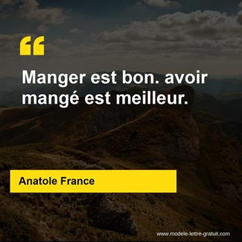 Citations Anatole France