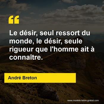 Citation de André Breton