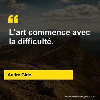 Citations André Gide