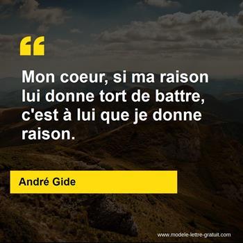 Citation de André Gide