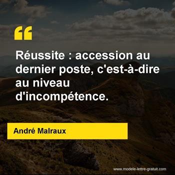 Citations André Malraux
