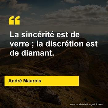 Citations André Maurois