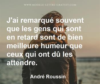Citation de André Roussin