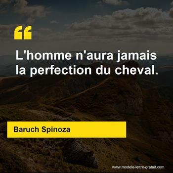 Citations Baruch Spinoza