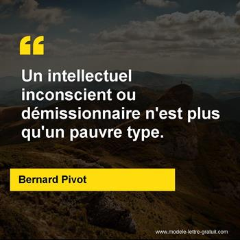 Citations Bernard Pivot