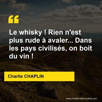 Citations Charlie CHAPLIN