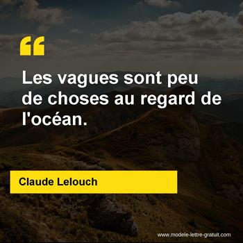 Citations Claude Lelouch