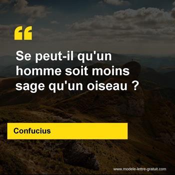 Citations Confucius