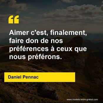 Citations Daniel Pennac