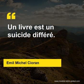 Citations Emil Michel Cioran
