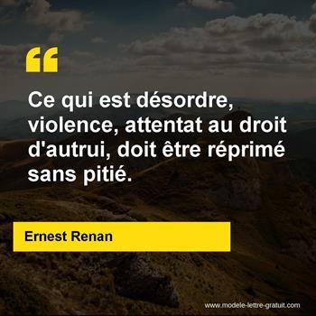 Citations Ernest Renan