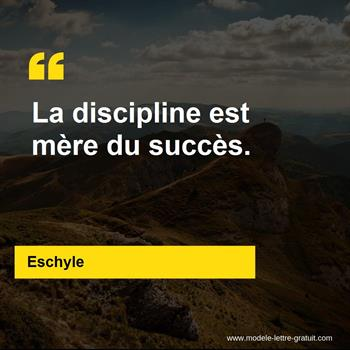 Citations Eschyle
