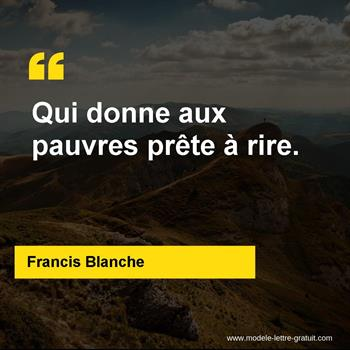 Citations Francis Blanche