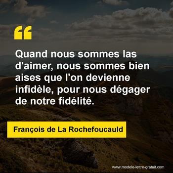 Citations François de La Rochefoucauld
