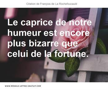 Citation de François de La Rochefoucauld