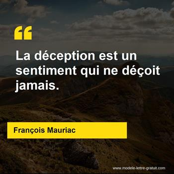 Citations François Mauriac