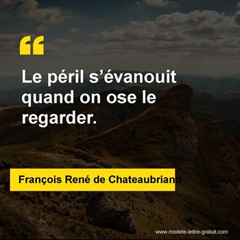 Citations François René de Chateaubriand