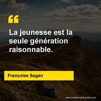 Citations Françoise Sagan