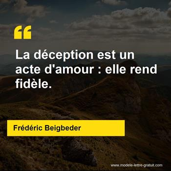 Citations Frédéric Beigbeder