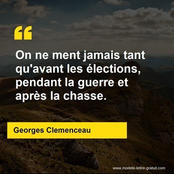Citations Georges Clemenceau