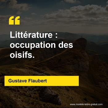 Citations Gustave Flaubert