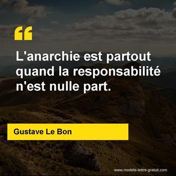 Citations Gustave Le Bon