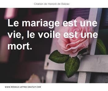Citation de Honoré de Balzac
