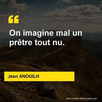 Citations Jean ANOUILH
