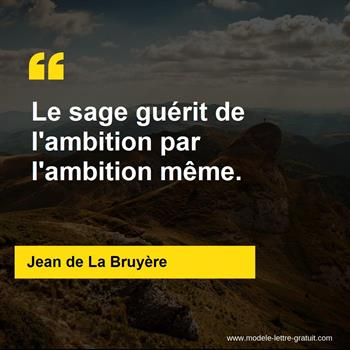 Citations Jean de La Bruyère