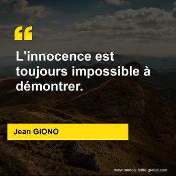 Citations Jean GIONO