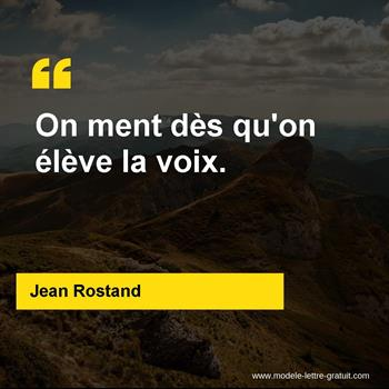 Citations Jean Rostand