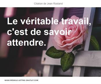 Citation de Jean Rostand