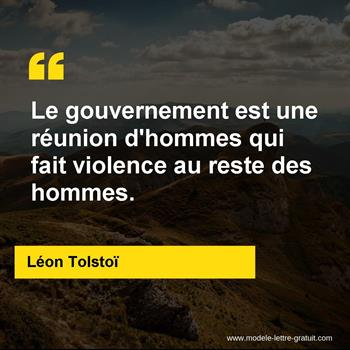 Citations Léon Tolstoï