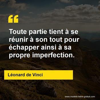 Citations Léonard de Vinci