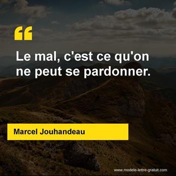 Citations Marcel Jouhandeau