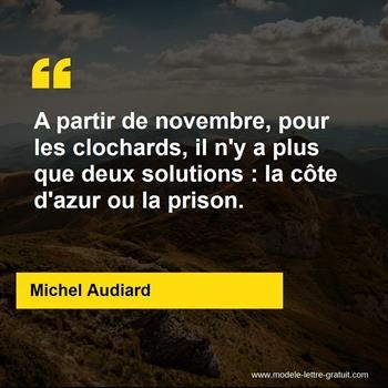 Citation de Michel Audiard