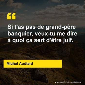 Citations Michel Audiard