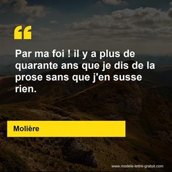 Citations Molière