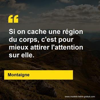 Citations Montaigne