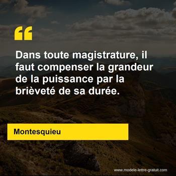 Citations Montesquieu