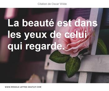 Citation de Oscar Wilde