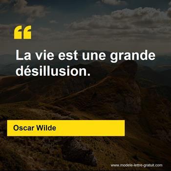 Citations Oscar Wilde
