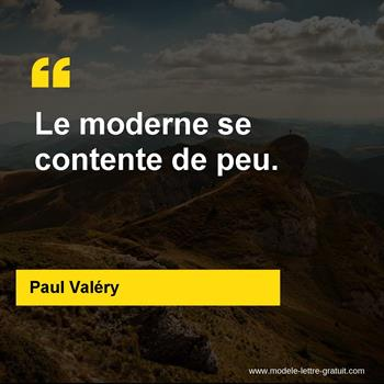 Citation de Paul Valéry