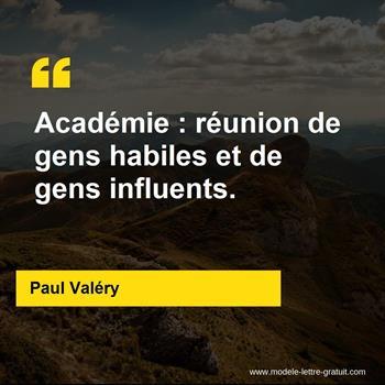 Citations Paul Valéry